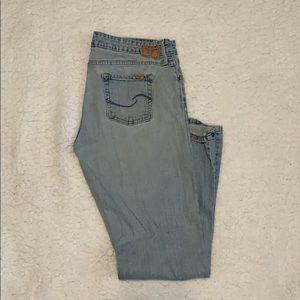 Levi Signature Low Slim Flare Jeans